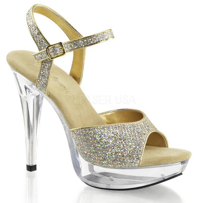 COCKTAIL-509 high heels de mujer españa oro talla 41 - 42